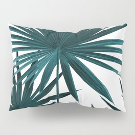 Fan Palm Leaves Jungle #1 #tropical #decor #art #society6 Pillow Sham