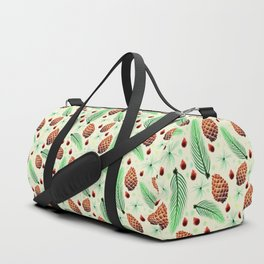 Pines and Pinecones Duffle Bag