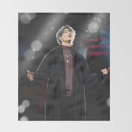 pray~ Jaebum fanart Throw Blanket