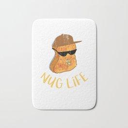 309288 Nug Life - Distressed Design for Chicken Nugget Fans110218 Bath Mat