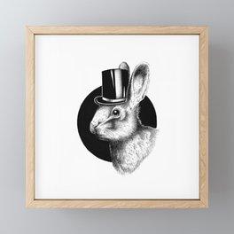 MISTER RABBIT Framed Mini Art Print