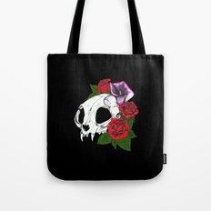Kitty Skull Tote Bag