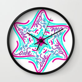 Shalom Star of David - 1 Wall Clock