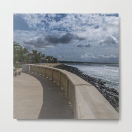 Aguadilla ocean view Metal Print