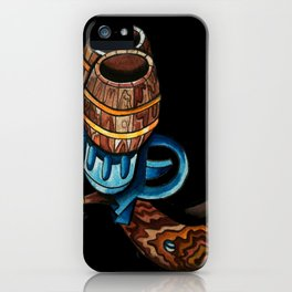 Black Double Barrell iPhone Case