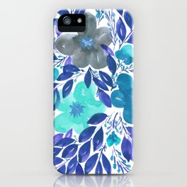 hand painted flowers_3 iPhone Case