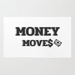 MONEY MOVES Rug