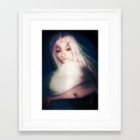 dark souls Framed Art Prints featuring Priscilla [Dark Souls] by JeyJey Artworks