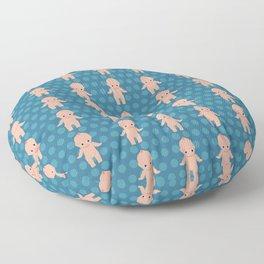 Kewpie pattern Floor Pillow