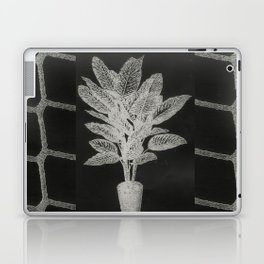 Strong Saints - Magic Dark collage with key, saints, net, shells, plants and grid Laptop & iPad Skin