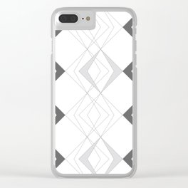 Rhombus Clear iPhone Case