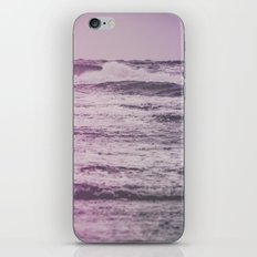 Ocean Waves - Vintage Blue Sea in California iPhone & iPod Skin