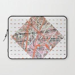 Flight of Color - diamond graphic Laptop Sleeve