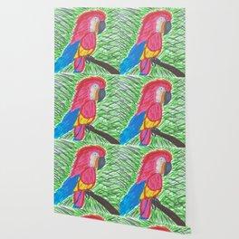 Pink Bird of Paradise Wallpaper
