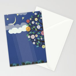 """Seasons"" Spring-Summer Stationery Cards"