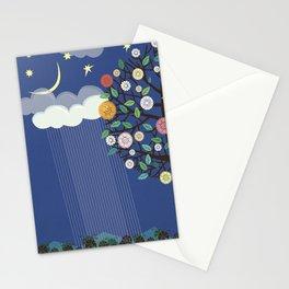 """Seasons"" Spring-Summer Stationery Cards"