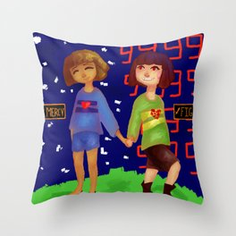 Mercyfight Throw Pillow