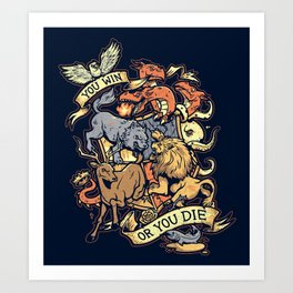 Win or Die Art Print