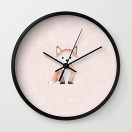 Be Clever | Pink Wall Clock