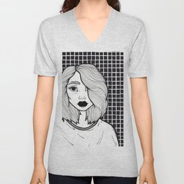 Just Another Angsty Teen Unisex V-Neck