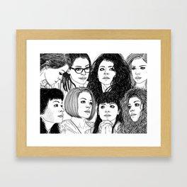 Orphan Black: Graeme's S5 Wrap Commission Framed Art Print