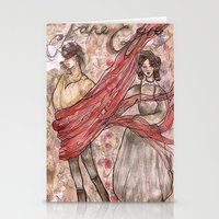 jane eyre Stationery Cards featuring Jane Eyre. An Autobiography  by Sarah Mary Street