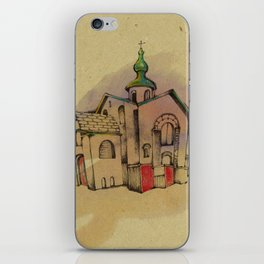Russian church iPhone Skin