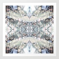 shopping Art Prints featuring shopping by ONEDAY+GRAPHIC