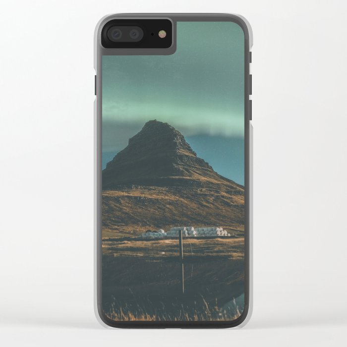 Kirkjufell, Iceland Clear iPhone Case