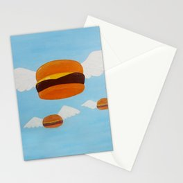 Bob's Flying Burgers Stationery Cards