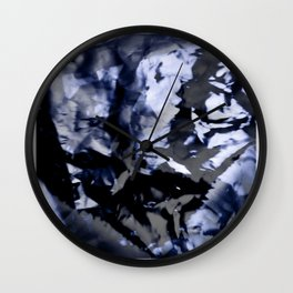 Indulging the Blues Wall Clock