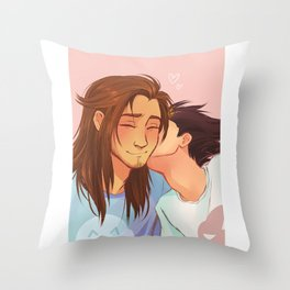 Tall and Small Throw Pillow