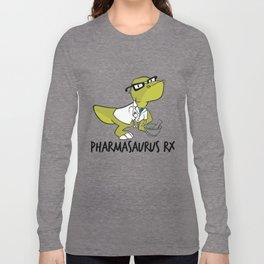 Pharmasaurux Rx - Pharmacy Dinosaur Long Sleeve T-shirt