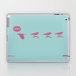 WTF? Ala Delta Laptop & iPad Skin