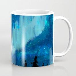 Northern Lights in Canada Coffee Mug