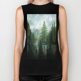 Mountain Morning 2 Biker Tank