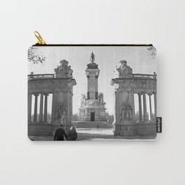 Couple at Madrid monument Carry-All Pouch