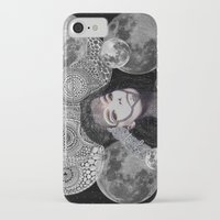 bjork iPhone & iPod Cases featuring Bjork by Luna Portnoi