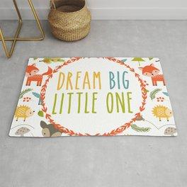 Dream Big Little One - Woodland Rug