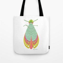 Summer Moth Tote Bag
