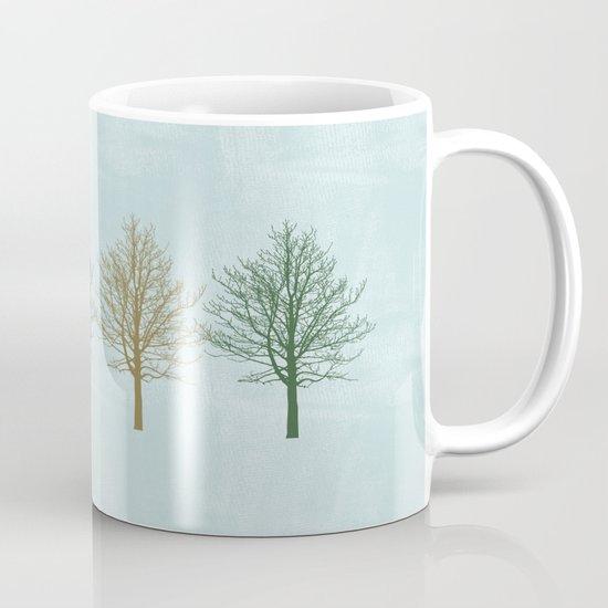 Four Colors Trees Mug