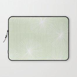 Dandelions in Mint by Friztin Laptop Sleeve