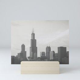 Chicago Dusk Mini Art Print