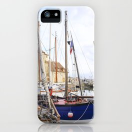 the French boats iPhone Case