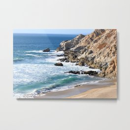 CALIFORNIA COAST - BLUE OCEAN Metal Print
