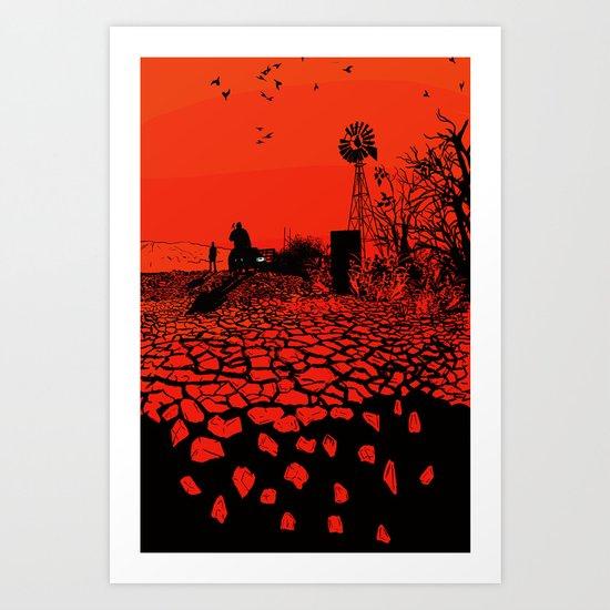 Breaking Bad Poster (alt) Art Print