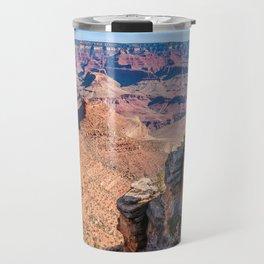 Morning at Bright Angel Trail - Grand Canyon Travel Mug