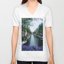 Charming Amsterdam Unisex V-Neck