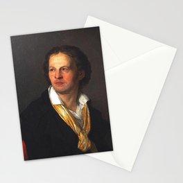 Joseph-Benoît Suvee - Portrait of Charles-Louis Trudaine de Montigny Stationery Cards