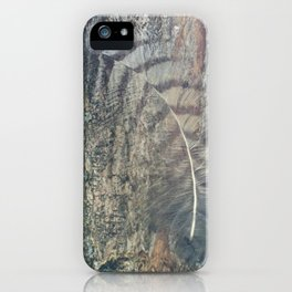 Bark Feather iPhone Case